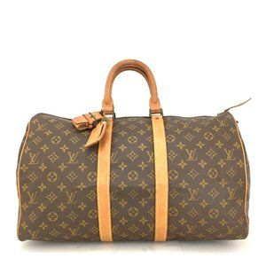 Auth Louis Vuitton Keepall 45 Travel #8178L32